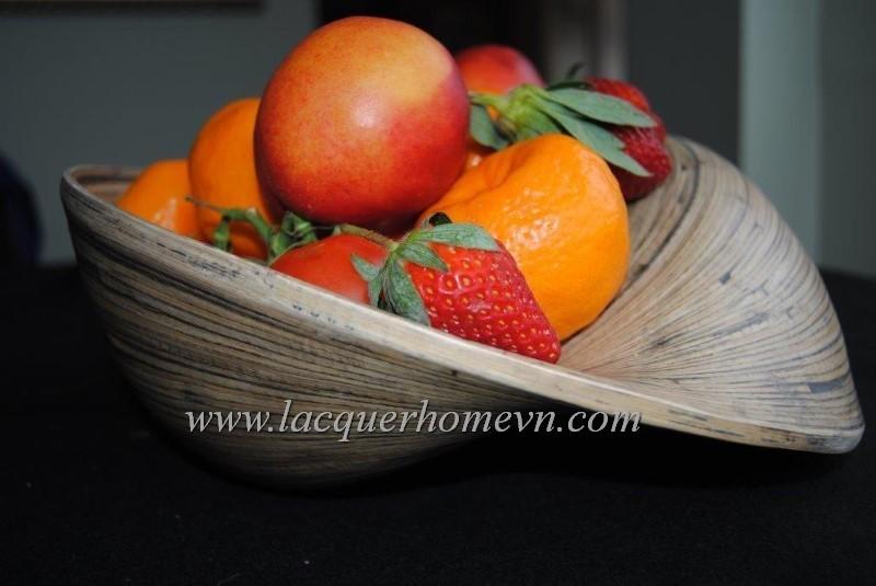 HT5222 Bát tre cuốn đựng hoa quả