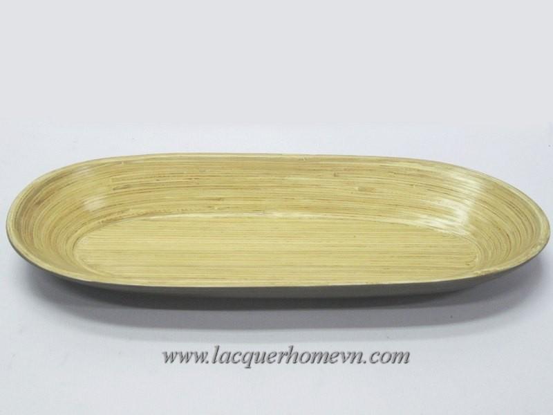HT7024 Khay bánh mỳ sơn mài tre