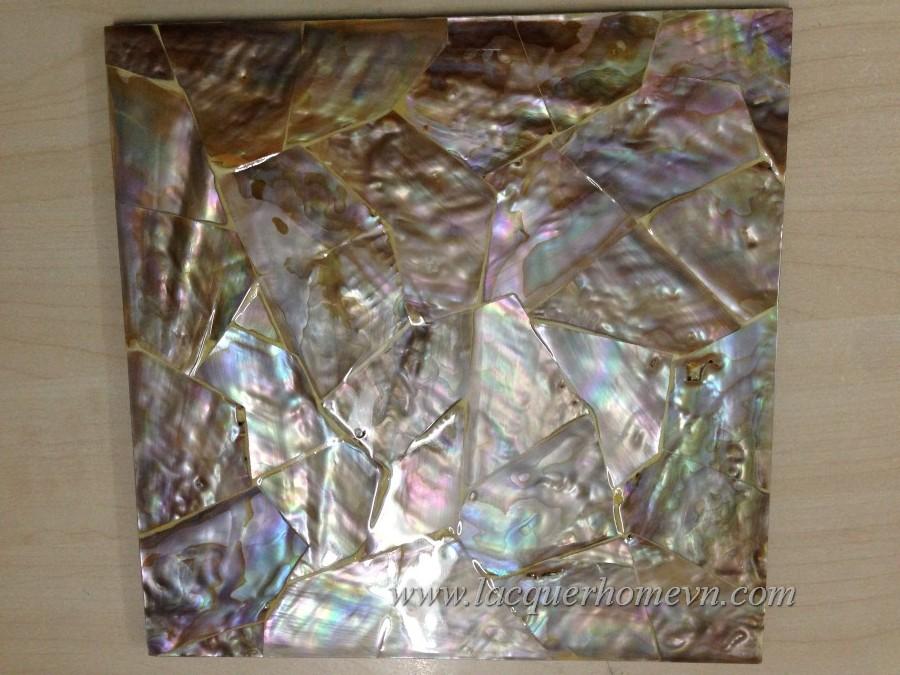 HT7125 Lót đĩa sơn mài khảm trai