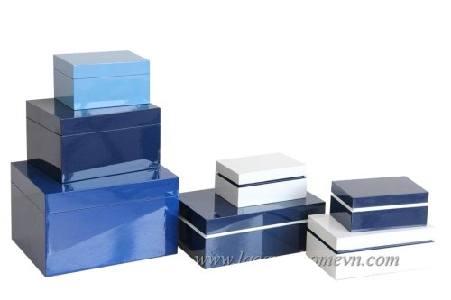 MDF lacquer jewelry boxes, made in Vietnam