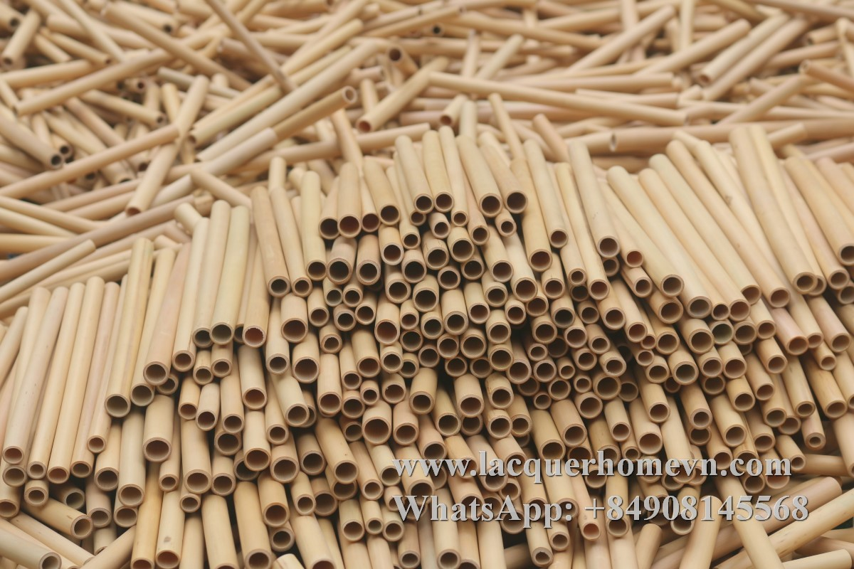 Bamboo straw factory